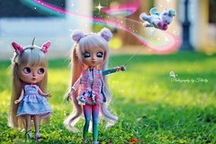 Teaching to fly my little unicorn. Fly Fly my little Punchi, you can!!