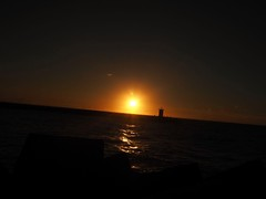 Sun goes down, tomorrow another day (S.w.C.photography!) Tags: sunset sunsetlovers sunsetchasers sun thehague thenetherlands orange black horizon holland photography swcphotography flickr northsea sea beach romantic shadow silhouette twilight night evening explore beautiful seascape sky ngc