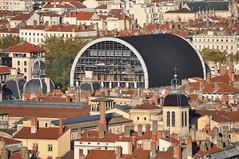 Le dme de l'Opra depuis Fourvire (Richard de Lyon) Tags: lyon opra dme toits