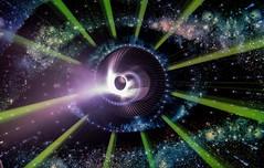 Nebulized.  292.366. (FadeToBlackLP) Tags: lightpainting lightart art longexposure longexposurephotography herramientas lightblades strobe beam eye space sky darkness light nebula