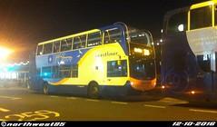 15591 (northwest85) Tags: stagecoach worthing coastliner 700 gx10 hau 15591 scania alexander dennis adl enviro 400 marine parade bus gx10hau