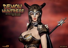 PHICEN PL2016-100 Demond Huntress EXPO Ver - 02 (Lord Dragon ) Tags: 16scale 12inscale onesixthscale actionfigure doll hot toys phicen seamless femalebody