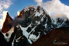 Hunza Peak (6270m) & Lady Finger (6000m). (KR-Waleed) Tags: hunzapeak karakoram ladyfinger bublimating pakistan