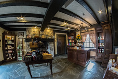 Tea Shop (Liz Marko Photography) Tags: blue epcot world showcase walt disney parks united kingdom tea shop twinings