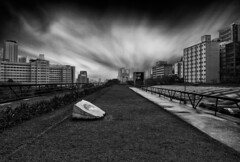 Dark Cityscape (Guilherme Nicholas) Tags: cityscape city blackandwhite bw dark cloud brazil sp monochrome street streetphotography building