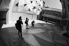 Museo ABC, Madrid (marioandrei) Tags: hipsters meta museo museum illustration ilustraacion madrid architecture triangles triangulos