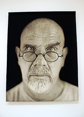Self-Portrait, by Chuck Close (JB by the Sea) Tags: sanfrancisco california october2016 sanfranciscomuseumofmodernart sfmoma chuckclose tapestry