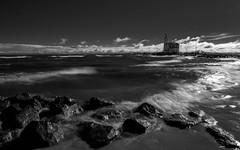 Het Paard van Marken (Martijn_68) Tags: lighthouse 1260mm zwartwit vuurtoren marken longexposure le ndfilter hetpaardvanmarken