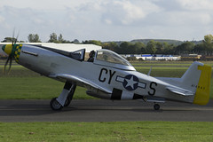 15/10/16 - Titan T-51 Mustang - G-DHYS [CY-S 414-907] (gbadger1) Tags: egbw wellesbourne mountford airfield matters october 2016 sunday 15 fifteen cy s 414907 titan t 51 mustang gdhys