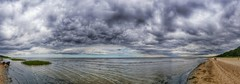 Another panoramic view of Usedom (Michael Schnborn) Tags: samsung galaxy s6 panorama panoramic usedom beach germany clouds nature naturescenes karlshagen