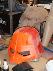 Top Half Printed and Glued (thorssoli) Tags: fallout fallout4 fallout3 powerarmor t45 helmet prop replica 3dprinting zortrax m200 lilygreen daniellilygreen myminifactory
