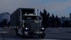 W900 rushing to the receiver! (atsworld) Tags: kenworth w900 american truck simulator ats