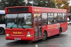 D&G Bus Dennis Dart SLF/Plaxton Pointer 2 195 (Y253 YBC) (john-s-91) Tags: dgbus dennisdartslf plaxtonpointer2 195 y253ybc newcastleunderlyme potteriesroute17