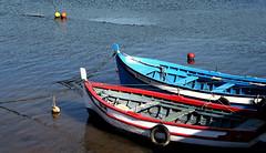Vila Nova de Milfontes | --- (Antnio Jos Rocha) Tags: portugal alentejo litoral barcos vilanovademilfontes barcas gua rio riomira mar oceano atlntico barcosancorados