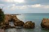 14IS046 Mediterranean Sea (Michael L Coyer) Tags: israel mediterranian mediterraniansea sea seashore shore caesarea caesareamaritine caesareamaritimus caesareamaritimum fishing