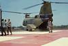 Da Nang, Vietnam, May 1969 (CDeahr23) Tags: usmc army vietnam helicopter marines usarmy ch46 vietnamwar unitedstatesmarinecorps ch46seaknight seaknight whiteknights hmm165 danangvietnam ch46d boeingch46d