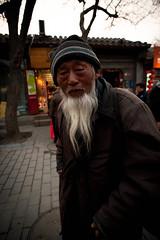 10 kuai photo (Choollus) Tags: china nikon asia candid homeless beijing beggar hutong cina chine streetshot gulou pekin pechino nanluoguxiang nikond700