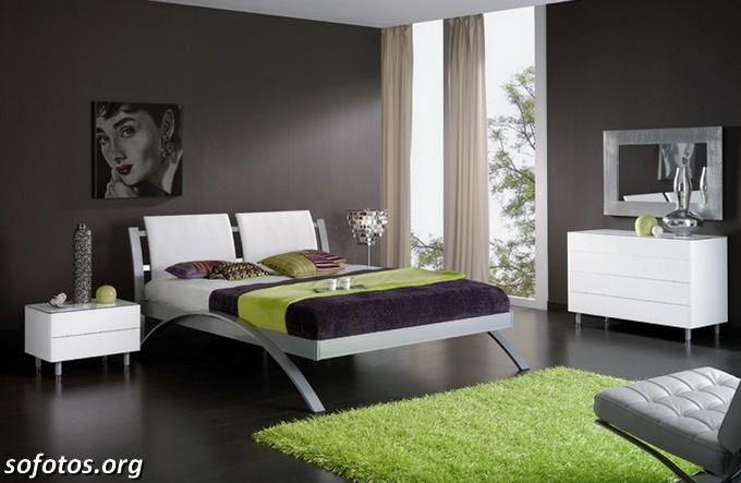 quarto de casal preto