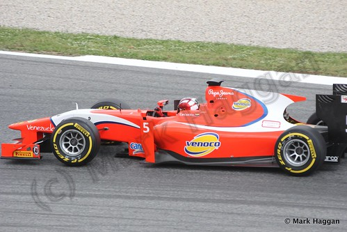Qualifying for GP2 at the 2013 Spanish Grand Prix