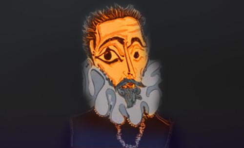 """Hidalgo Ibérico, expresión de Doménikus Theokópoulos el Greco (1597), transcripción de Pablo Picasso (1971). • <a style=""""font-size:0.8em;"""" href=""""http://www.flickr.com/photos/30735181@N00/8746815283/"""" target=""""_blank"""">View on Flickr</a>"""