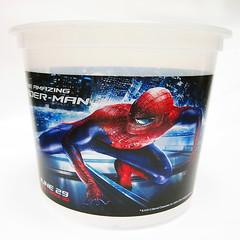 พิมพ์ถังป๊อปคอร์น Spider-Man ไซส์ยักษ์