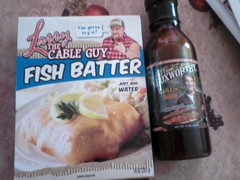 larry the cable guy fish batter and jeff foxworthy grillin' sauce (rubber cat) Tags: sauce condiment jefffoxworthy larrythecableguy lgvn250 fishbatter