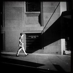 Happy hour (Albion 'a whole lotta busy' Harrison-Naish) Tags: street light blackandwhite man building monochrome square person shadows candid sydney 7 australia squareformat nsw newsouthwales lightandshadow martinplace unedited iphone explored mobilephotography iphone4 johnslens iphoneography hipstamatic blackeyssupergrainfilm streetphotogoraphy