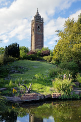 Cabot Tower from the pond (Craig Williams Photography) Tags: canon bristol landscape pond cabottower craigwilliams canon50d 20mmf28usm craigwilliamsgallery