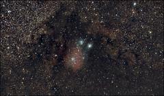 NGC 6589 in Sagittarius (Teva CHENE) Tags: canon celestron xsi c14 baader 450d pixinsight ngc6589 starizona hyperstar backyardeos