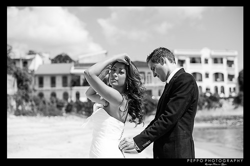 Trash the Dress. Casco Antiguo