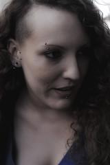Htronorme (private joke) (Profond Dment (pas trop l)) Tags: portrait woman mouth hair nose eyes nikon raw femme lips piercing yeux bouche nez visage lvres cheveux d700 dcollt