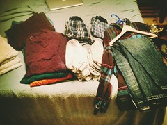 Clean Clothes (davidciani) Tags: bed clothes laundry folded uploaded:by=flickrmobile cianiresidence dublinfilter flickriosapp:filter=dublin