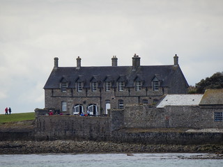 Buildings on St Michael's Mount, Cornwall