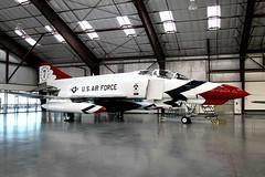 USAF Thunderbirds | McDonnell Douglas F-4E Phantom | 66-0329 | Pima Air & Space Museum (Dennis HKG) Tags: usaf thunderbirds f4 phantom mcdonnelldouglas aircraft airplane airport plane planespotting museum pima canon 1d 24105 660329