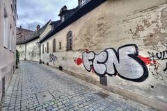 FC Nuremberg (Jan Kranendonk) Tags: germany deutschland deutsch nuremberg nurnberg graffiti grafitti wall street urban city soccer football club
