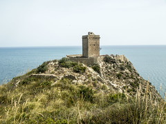 Torre Normanna (sctkirk) Tags: sicily castle tower sea
