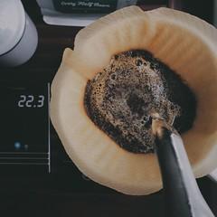 Homebrew is sometimes the best () Tags: breakfast morning coffeeexplore coffeelover everyhalfbean filtercoffee kalita brewing homebrew brew coffee