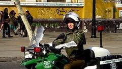 Mujer cabarinero | Santiago, Chile (RiveraNotario) Tags: carabinerosdechile carabineros chilenas girls policewoman