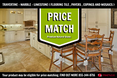 PRICE MATCH TRAVERTINE TILES