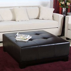 Tufted Leather Ottoman Coffee Table (iqlacrossecom) Tags: tufted leather ottoman coffee table