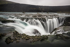 Aqua Flow (Murphy Osborne Photo) Tags: iceland landmanalagaar travel photography blue water falls waterfall waterfalls 270 degree angle aqua turquoise beautiful adventure edge backcountry slippery rocks