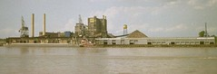 Domino Sugar Refinery (@jasonh328) Tags: nola neworleans mississippiriver natchez sugar domino refinery refining riverboat canon eos630 film 35mm kodak