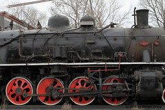 I_B_IMG_8222 (florian_grupp) Tags: asia china steam train railway railroad bayin lanzhou gansu desert landscape loess mountains sy ore mine 282 mikado steamlocomotive locomotive