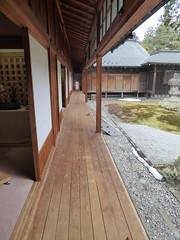 Covered verandah (seikinsou) Tags: japan nikko spring tamozawa emperor villa residence palace museum verandah garden view
