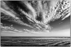 the hole (ingrid.lowis) Tags: wadden wattenmeer wolken bw monochrom föhr