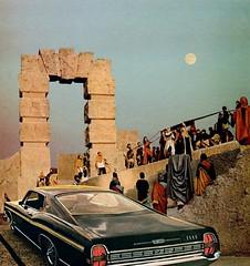 You Don't Have to Sacrifice Everything for a Great Car (Keysgoclick) Tags: collage surreal surrealism surreal42 vintage car retro keysgoclick mikhailsiskoff