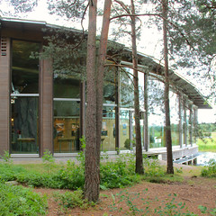 Naturum Vrmland V (hansn (2+ Million Views)) Tags: architecture contemporary modern arkitektur naturum visitorcentre nature natur karlstad vrmland sweden sverige squarish square