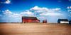 An early Spring bucolic barn scene (hz536n/George Thomas) Tags: 2016 arenaccounty cs5 canon canon5d hdr michigan barn farm nik rural sky bucolic field calm ef24105mmf4lisusm spring copyright
