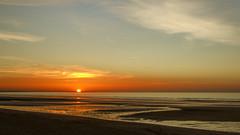 Cabourg 2011 (PatGentil) Tags: cabourg normandie plage coucherdesoleil ciel nuages paysages mer