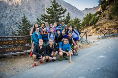 DSC_1227 (Dan Kistler) Tags: samaria gorge hiking rocks sea adventure principia college travel greece